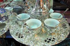 Free Oriental Tea Cup. Royalty Free Stock Photos - 21884228