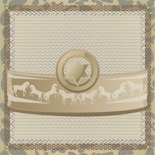 Free Sheriff Star Royalty Free Stock Photos - 21885138