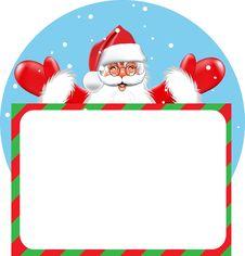 Free Blank Sign - Santa Stock Image - 21886131