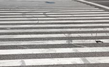 Zebra Crossing Royalty Free Stock Photo