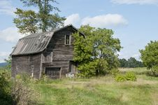 Old Barn In Vermont Stock Image