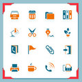 Free Office Icons | In A Frame Series Stock Images - 21898324