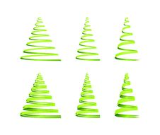 Free Christmas Tree Design Royalty Free Stock Photography - 21890297