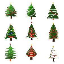 Free Christmas Tree Royalty Free Stock Image - 21892446