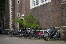 Free Amsterdam Bikes Stock Photo - 21893110