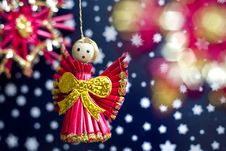 Free Christmas Decoration Royalty Free Stock Image - 21897656