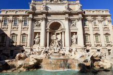 Free Trevi Fountain Stock Images - 21899234