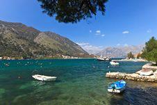 Free Beautiful Kotor Bay Stock Images - 21899324