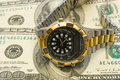 Free Watch On Dollars Stock Photo - 2197330