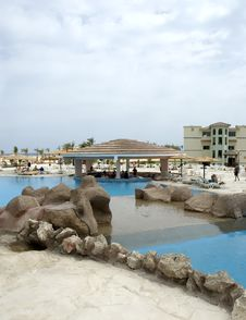 Red Sea Resort, Overview Stock Image