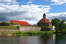 Free Fortress Korela (Kareliya) Royalty Free Stock Photography - 2190257