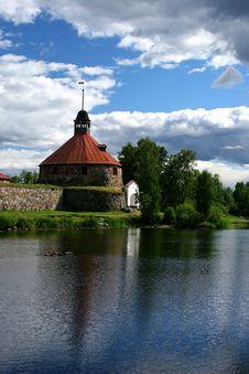 Free Fortress Korela (Kareliya) Royalty Free Stock Photos - 2190268