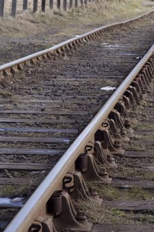 Free Industrial Tracks Stock Photo - 2190360