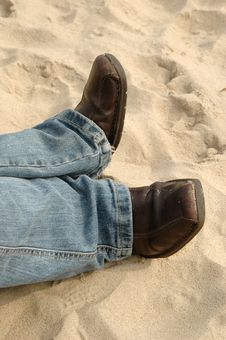 Beachcomber Boots Stock Photos