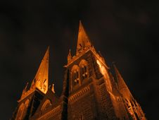 Free St Paul S Cathedral At Night Royalty Free Stock Photo - 2191475
