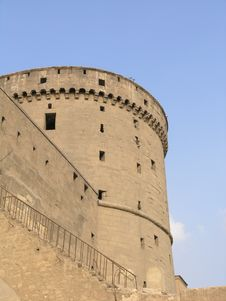 Tower Of The Citadel In Cairo.