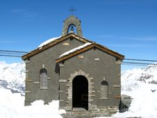 Free Alpine Church, Gornergrat, Switzerland Stock Photography - 2191682