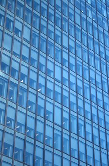 Windows Of A Skyscraper Stock Image