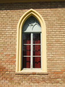 Free Gothic Window Royalty Free Stock Photo - 2192495