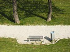 Free Park Bench Stock Image - 2192551