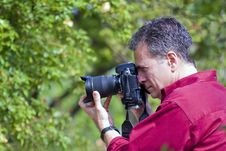 Free Photographer At Work Royalty Free Stock Images - 2192809