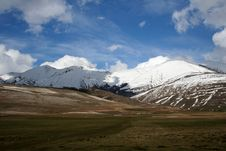 Free Castelluccio /winter Landscape Royalty Free Stock Photography - 2193637
