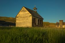 Free Old Rural Church Royalty Free Stock Images - 2193699