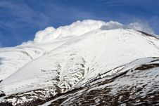 Free Castelluccio /winter Landscape Royalty Free Stock Images - 2193799