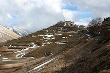 Free Castelluccio /winter Landscape Stock Images - 2193924