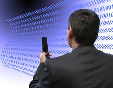 Free Salesman Coding Stock Image - 2194131
