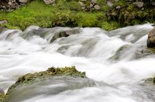 Highland Waterfall 2 Royalty Free Stock Photography