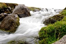 Highland Waterfall 4 Stock Image