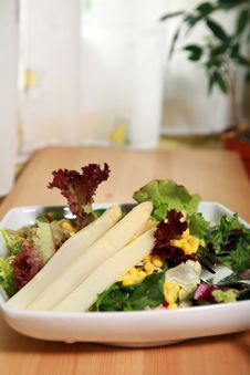 Sweet Corn Salad Royalty Free Stock Photography