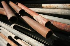 Free Pipes Metal Stock Image - 2196551