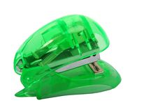 Free Green Stapler Royalty Free Stock Photos - 2197358