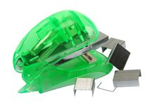 Free Green Stapler Stock Images - 2197364
