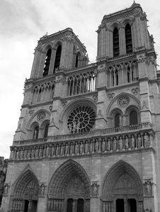 Free Notre Dame De Paris, France Royalty Free Stock Photo - 2197395