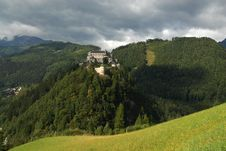 Free Castle In Werfen Austria Stock Photo - 2197450