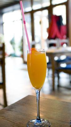 Free Orange Cocktail Drink Royalty Free Stock Photos - 2197608
