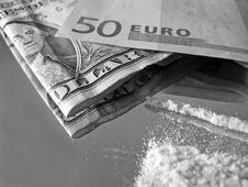 Cocaine Stock Image