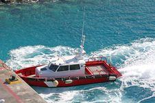 Free Red Pikot Boat Royalty Free Stock Photos - 2198098
