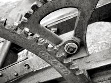 Free Gears And Levers Royalty Free Stock Image - 2198306