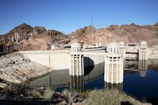 Free Hoover Dam Reflection Stock Images - 2198354