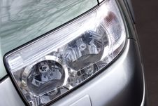 Free Vehicle Headlight Close-up Stock Photos - 2198693
