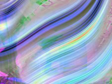 Free Multicoloured Wavy Curves(4) Stock Photography - 2198802