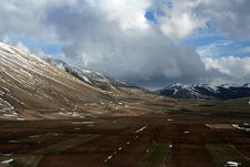 Free Castelluccio /winter Landscape Stock Images - 2198864