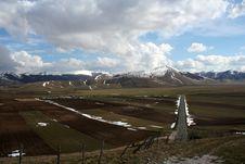Free Castelluccio /winter Landscape Stock Image - 2198911