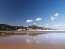 Free Laida Beach In Vizcay, Basque Royalty Free Stock Photography - 2199227