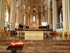 Free Interior Of The New Cathedral Stock Photo - 2199400