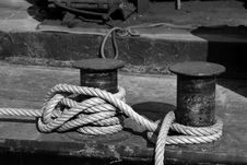 Free Mooring Rope Stock Image - 2199821